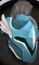 Rune full helm (Saradomin) chathead