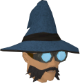 Runecrafter hat (blue, goggles on) chathead