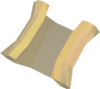 Sandy Clue Scroll detail