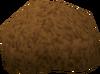 Brown afro detail
