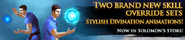Divination overrides at SGS lobby banner