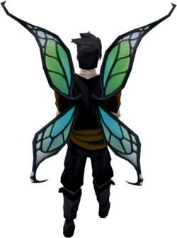 Echo wings (glowing) equipped
