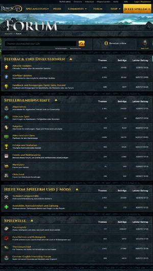 Forum Übersicht