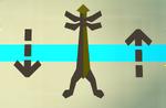 Marble cape rack (flatpack) detail