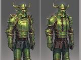 Necrite armour