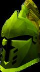 Steel heraldic helm (Jogre) detail