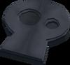 Stone shape (skull) detail