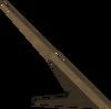 Sundial gnomon detail