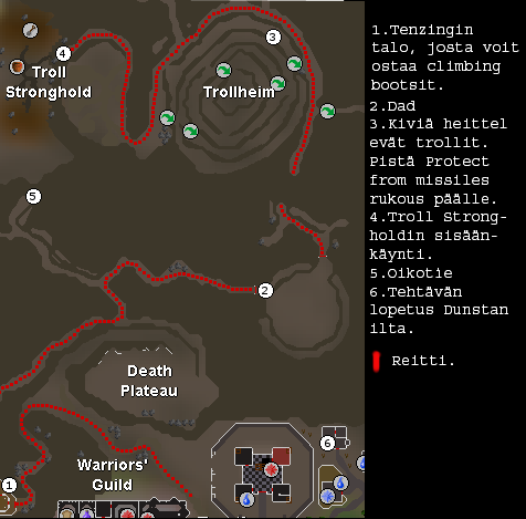 Troll stronghold quest