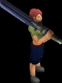 Argonite 2h sword equipped