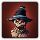Scarecrow mask icon