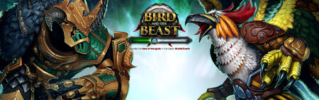 The Bird and the Beast banner