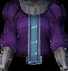 Theatrical tunic (purple, female) detail