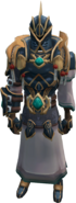 Abyssal Knight (override) (female) equipped