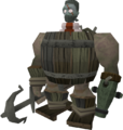 Barrelchest disguise equipped.png