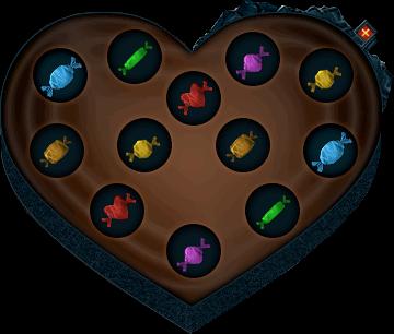Box Of Valentine Chocolates Interface