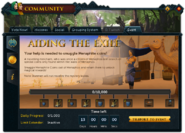 Community (Aiding the Exile) interface 1