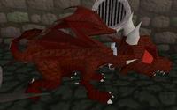 Dragão vermehlo