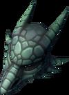 Frost dragon mask detail