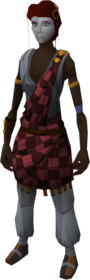 Highland outfit equipped (female)