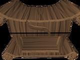 Mahogany fancy dress box