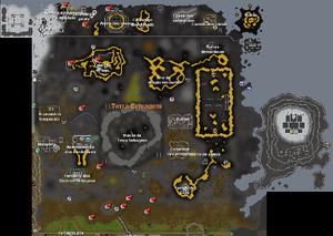 Mapa Terra Selvagem
