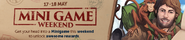 Minigame weekend lobby banner