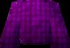Robe top (purple) detail