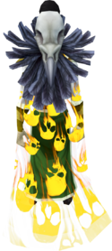 Soul cape (golden) equipped