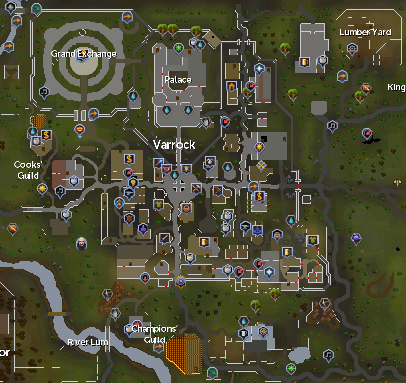 Map Of Runescape Image Titled Find Your Way Around Runescape Step