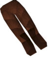Werewolf legs (red, male) detail