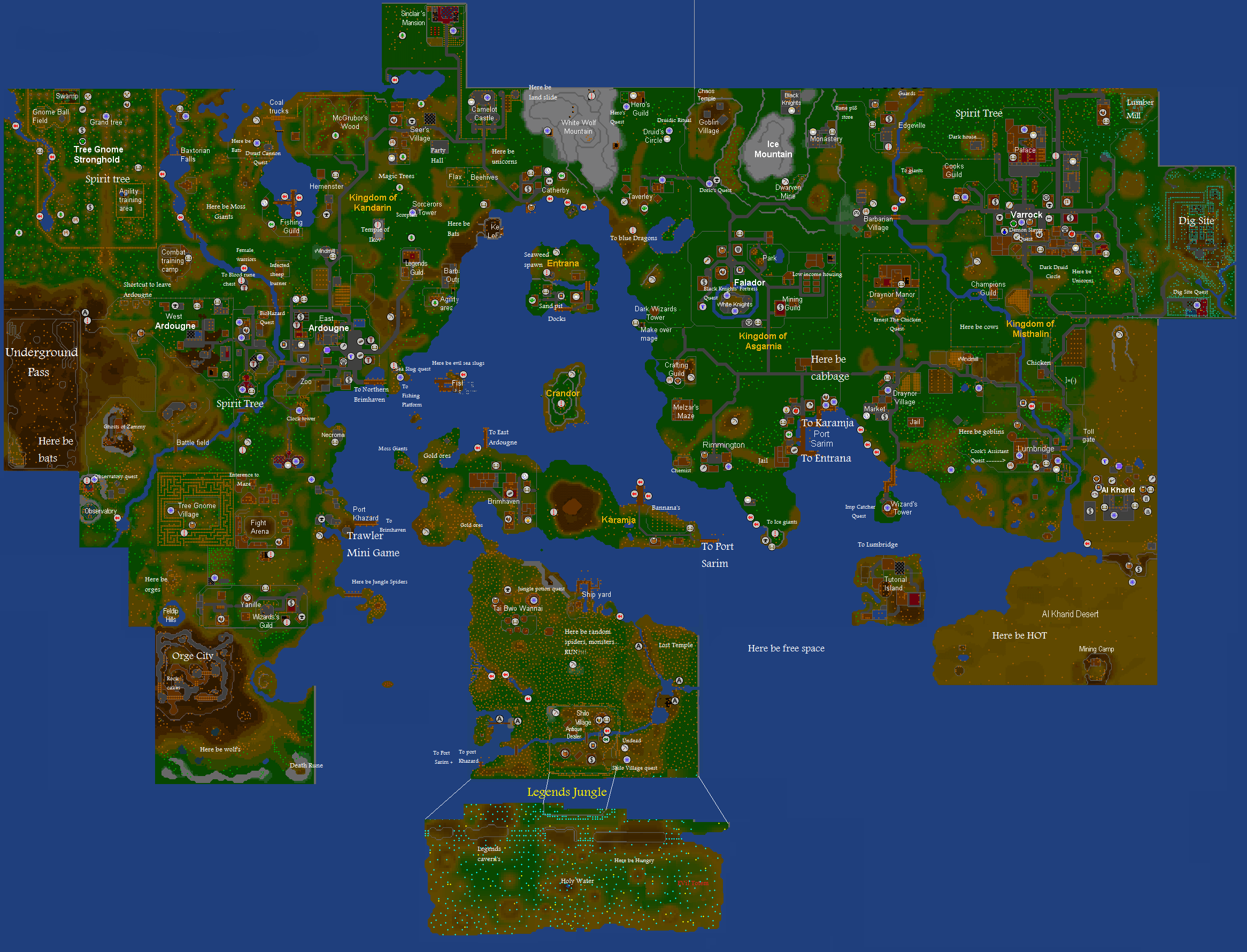 World map/History | RuneScape Wiki | Fandom