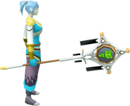 Banner of Sliske (tier 3) equipped