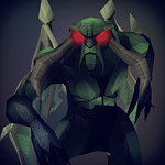 Jungle demon icon