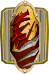 Mounted anti-dragonfire shield