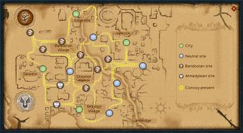 War map view
