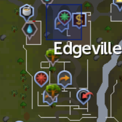 Chronicle Player (Edgeville) location