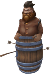 Dwarven challenge barrel detail