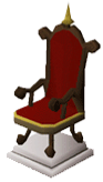 Mahogany throne2