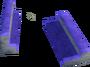 Purple corner key detail