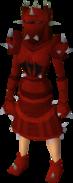 Replica dragon plate armour (sp) equipped (female)