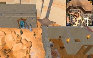 Scan clue Menaphos Worker district north-east of the concentrated sandstone rocks