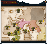 Spirit tree teleport interface