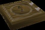 Teak trapdoor built