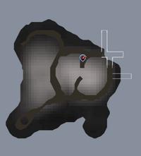 V's Island map
