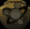 Fragile divination urn (nr) detail
