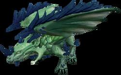 Onyx dragon (Dragonkin Laboratory)