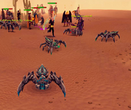 Players as Araxxor minion spiders