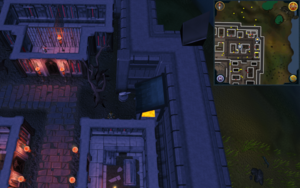 Scan clue Darkmeyer in north-east corner next to furnace
