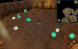 Scan clue Fremennik Slayer Dungeon centre of jelly chamber